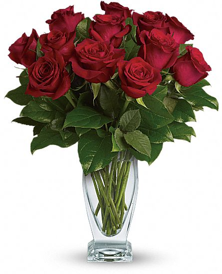 Red roses blooming elegance in yakima wa is a florist
