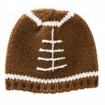 Brown Football Beanie